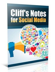 social media marketing cliff notes plr report social media marketing cliff notes plr report Social Media Marketing Cliff Notes PLR Report social media marketing cliff notes plr report 190x250