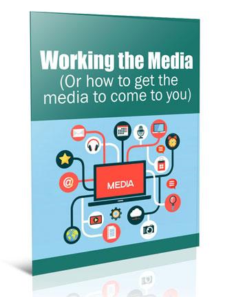 working the media plr report