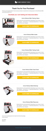 home workout ebook and videos