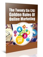 rules of online marketing plr report
