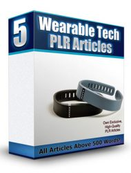 wearable technology plr articles