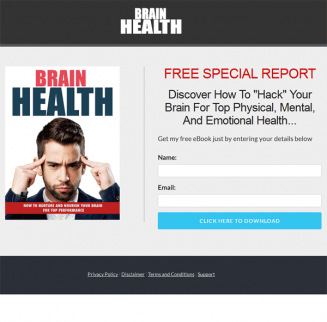 brain health ebook and videos