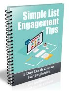 email list engagement tips plr autoresponder messages