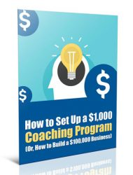 how to set up a coaching program plr report