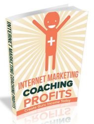 internet marketing coaching profits plr report