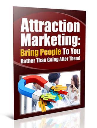 attraction marketing plr report