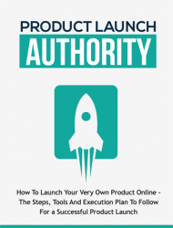 product launch authority ebook and videos