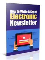 write a great newsletter plr report