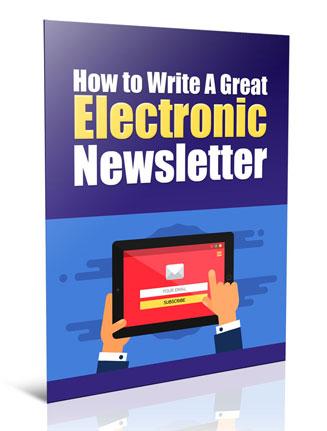 write a great newsletter plr report