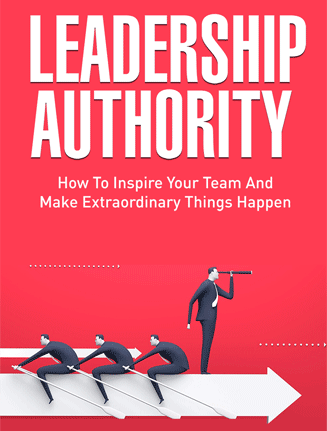 leadership authority ebook and videos