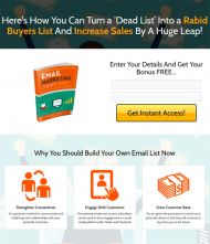 private label rights Private Label Rights and PLR Products email marketing cheat sheet squeeze page