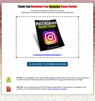 instagram traffic report