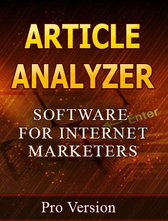 article analyzer plr software article analyzer plr software Article Analyzer PLR Software with Private Label Rights article analyzer plr software