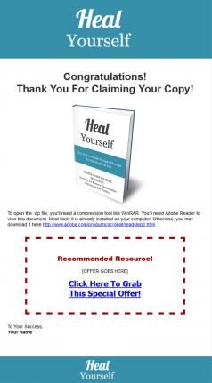 heal yourself ebook