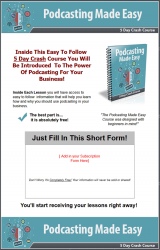 podcasting made easy plr autoresponder messages private label rights Private Label Rights and PLR Products podcasting made easy plr autoresponder messages squeeze page