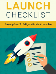 product launch checklist ebook