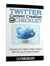 twitter content creation checklist private label rights Private Label Rights and PLR Products twitter content creation checklist