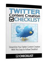 twitter content creation checklist twitter content creation checklist Twitter Content Creation Checklist with Master Resale Rights twitter content creation checklist 190x250