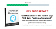 30 days of motivation report private label rights Private Label Rights and PLR Products 30 days of motivation report squeeze page