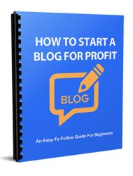 how to start a blog for profit report how to start a blog for profit report How To Start A Blog For Profit Report with Master Resale Rights how to start a blog for profit report 190x250 private label rights Private Label Rights and PLR Products how to start a blog for profit report 190x250