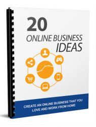 online business ideas report
