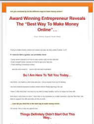best way to make money online plr videos