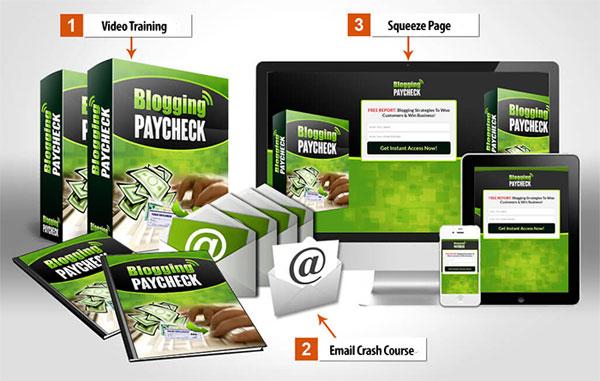 blogging paycheck plr videos