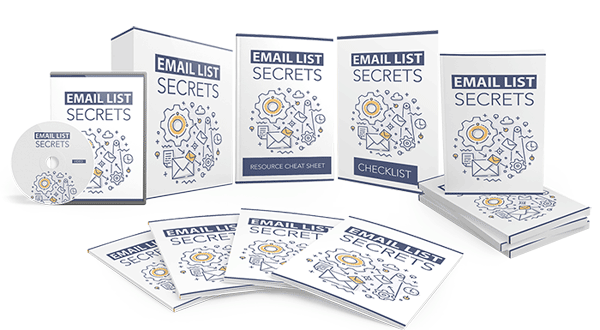 email list secrets ebook and videos