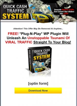 quick cash traffic system plr videos