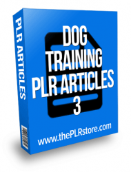 dog training plr articles private label rights Private Label Rights and PLR Products dog training plr articles 3
