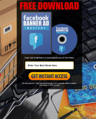 facebook banner ad mastery videos private label rights Private Label Rights and PLR Products facebook banner ad mastery videos squeeze page 190x234