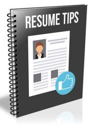 resume tips plr report resume tips plr report Resume Tips PLR Report resume tips plr report 190x250