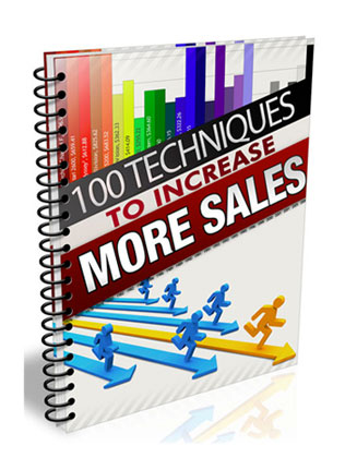 100 Techniques To Increase Sales MRR Ebook