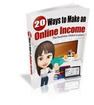 20-Ways-to-Make-an-Online-Income-Cover  20 Ways To Make An Online Income MRR Ebook 20 Ways to Make an Online Income Cover 190x213