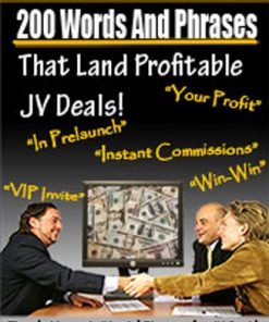 200 Words and Phrases that Land Joint Venture Deals PLR
