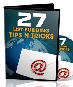 list building tips plr videos