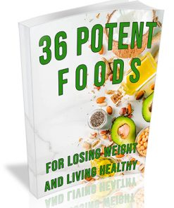 36 Potent Foods PLR Ebook