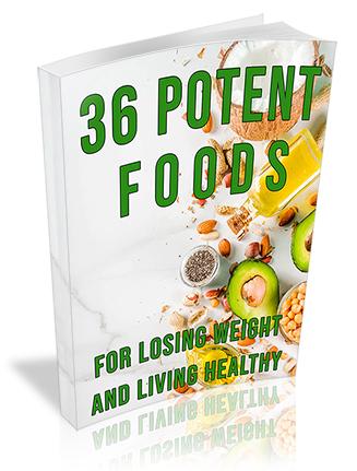 36 Potent Foods PLR Ebook