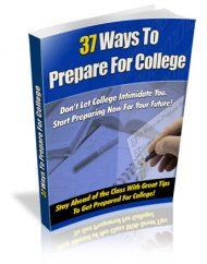 37-ways-to-prepare-for-college-plr-ebook  37 Ways to Prepare for College MRR Ebook 37 ways to prepare for college plr ebook 190x242