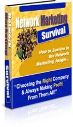 3D-NMS  Network Marketing Survival Guide PLR 3D NMS 144x250