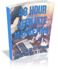 48 Hour Affiliate Marketing PLR Ebook
