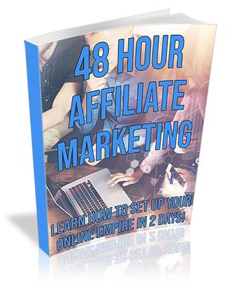 48 Hour Affiliate Marketing PLR Ebook