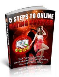 5 Steps to Online Dating Success PLR eBook