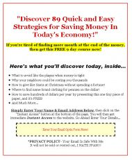 private label rights Private Label Rights and PLR Products 89 plr money saving tips squeeze page 190x231