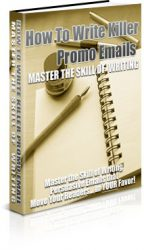 Book-Large  How To Write Killer Promo Emails PLR Ebook Book Large 144x250