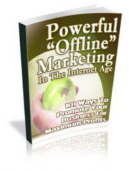 POMCOVERLARGE  Powerful Offline Marketing PLR Ebook POMCOVERLARGE 188x250