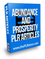 abundance and prosperity plr articles abundance and prosperity plr articles Abundance and Prosperity PLR Articles abundance and prosperity plr articles 190x250