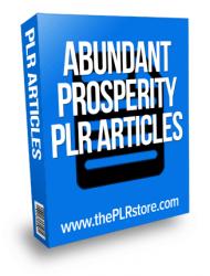 abundant prosperity plr articles abundant prosperity plr articles Abundant Prosperity PLR Articles abundant prosperity plr articles 190x250