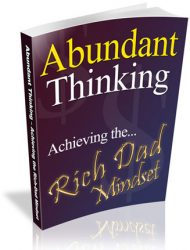abundant thinking plr ebook abundant thinking plr ebook Abundant Thinking PLR Ebook Rich Dad Mindset abundant thinking plr ebook 190x250
