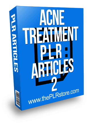 Acne Treatment PLR Articles 2